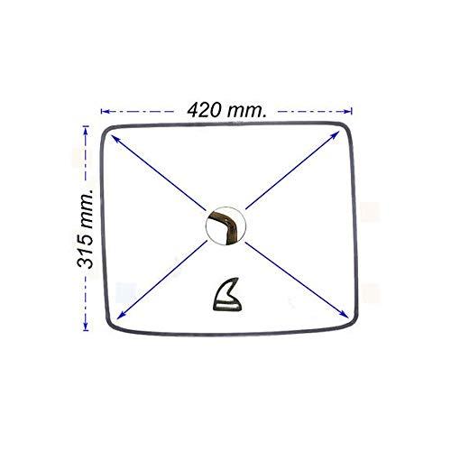 Nardi Guarnizione Porta Forno Nardi Da 60cm Misure 31,5 X 42