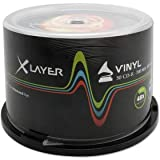 CD-R 80 XLayer 48x Black Vinyl 50er Cakebox