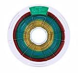 DQ Filament PLA 1Kg/1.75mm Multicolore pour imprimantes 3d-Biodégradable, se obtiene a partir de fécule de maïs