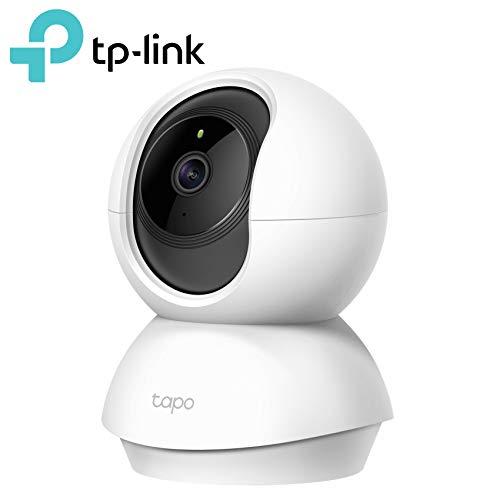 TP-Link Telecamere Wi-Fi Tapo C200, 1080p, Visione Notturna, Audio bidirezionale, Indoor con slot SD, Storage scheda SD fino a 128 GB
