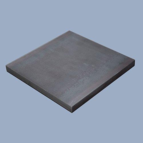 Ankerplatte, 250 x 250 x 20 mm Fußplatte Stahlplatte quadratisch, S235JR ST37