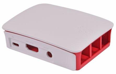 31pfmQFKjqL - Melopero Raspberry Pi 3 Official Starter Kit White, con Cargador Oficial, Caja Oficial, microSD Oficial de 16GB con Noobs, Cable HDMI y disipadores