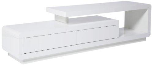 KARE, Mobiletto Basso per TV, Bianco (Weiß)
