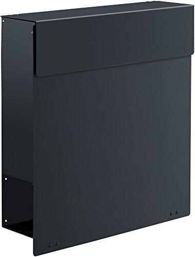 Frabox Design Briefkasten NAMUR Stahl lackiert, RAL 7016 Anthrazitgrau