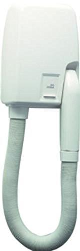 Lineabeta-OTEL-Elektrischer-Wand-Haartrockner-Fhn-wei-220V-mit-Rasiersteckdose-HOTEL-53261