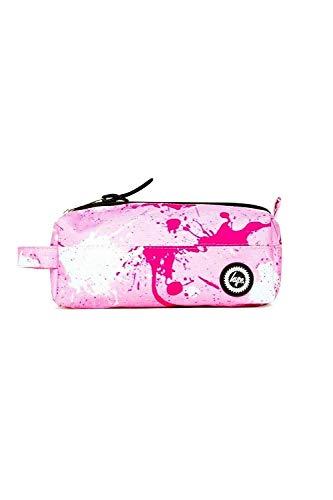 Hype - Astuccio portapenne 2019, vari colori, per il ritorno a scuola Misura unica Pink Splatter