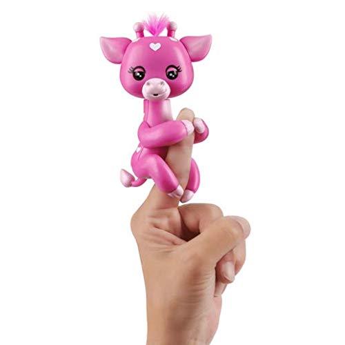 Fingerlings WOWWEE - 35590 Baby Giraffe - Meadow - interaktives Spielzeug