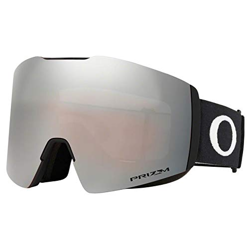 Oakley Fall Line XL, Occhiali da Sole Unisex-Adulto, Nero (Nero Opaco/Prizm Snow Black Iridium)