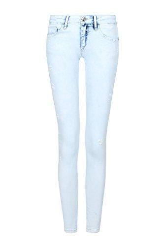 TALLY WEiJL – Hellblaue Skinny-Jeans – Damen – Blau