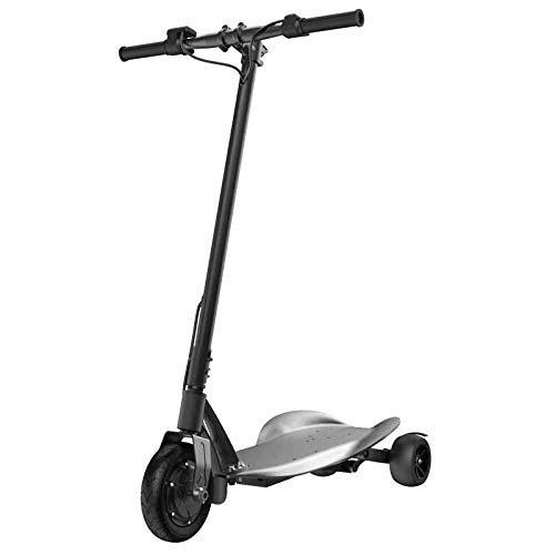KNFBOK Scooter Elettrico Pieghevole Monopattino per Adulti a Tre Ruote 36V 4AH Durata della Batteria...