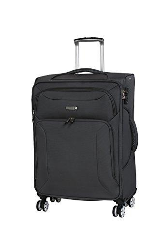 it luggage Fascia 8 Wheel Lightweight Semi Expander Suitcase Medium with TSA lock Valigia, 68 cm, 90...