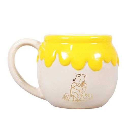 Half Moon Bay 3D Tasse Relieve Disney Winnie The Pooh Hunny, Holz, Multi, 450 ml-14.5 (W) x 9.5 (h) x 11.5 (d) cm