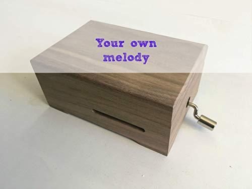 Pack Diyfai Da Te Per Costruire Il Tuo Carillon Personalizzato Contiene Un Meccanismo Musicale A Manovella E Una Scatola Di Legno Forata Scegli La