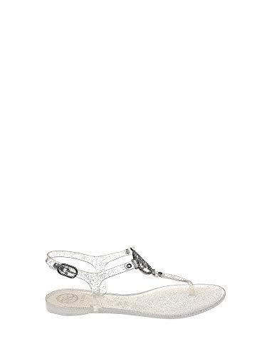 Guess FL6JAC RUB21 Sandalo Infradito Donna Argento 41