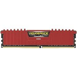 Corsair Vengeance 8GB DDR4 LPX 2400MHz C16 RAM Kit for X99 Chipset (CMK8GX4M1A2400C16R)
