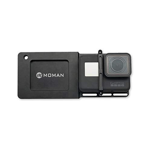 Moman GoPro Adattatore di Montaggio Piastra, Gopro Plate per GoPro 3+/4/5/6 sul Zhiyun Smooth DJI Osmo Mobile Gimbal