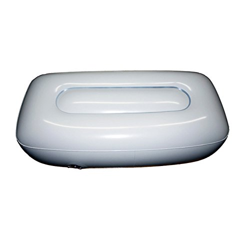 XuBa - Cojín de Aire Ligero para Asiento Hinchable de Kayak, Pesca, Barco, Rafting, Playa