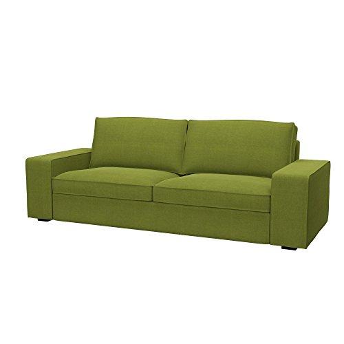 Soferia Fodera Extra Ikea KIVIK Divano a 3 posti, Tessuto Elegance Green