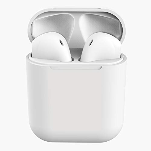 i11 TWS 5.0 Bluetooth Earphone-Wireless Earphones-Bluetooth Headset with Mic (White, in The Ear)