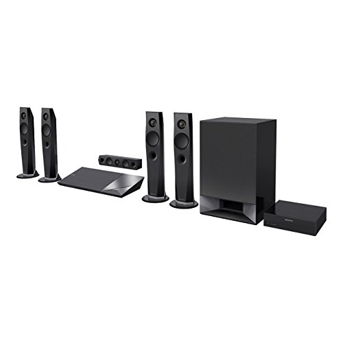 Sony BDV-N7200W Sistema Home Theatre 3D, 5.1 Canali, 1200 W, Audio Hi-Res, NFC, Nero