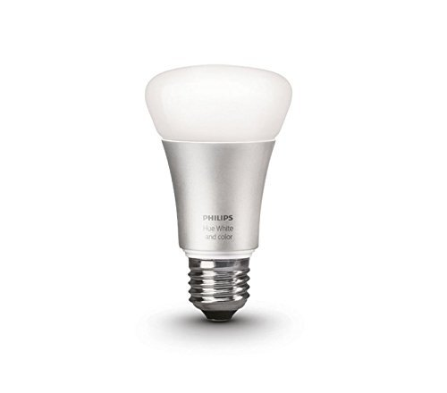 Philips Hue 10W E27 Smart Bulb (White and Color), Compatible with Amazon Alexa, Apple HomeKit, and The Google Assistant