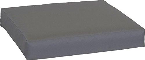 beo LKP 80x60PY202 - Cuscino per Divano, con Chiusura Lampo e Tessuto Idrorepellente, 80 x 60 cm, Colore: Antracite