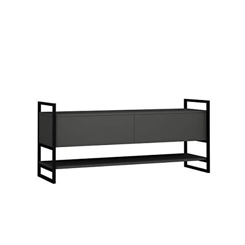 Hocuspicus - Mobile porta TV dal design moderno, per soggiorno fino a 55 pollici, 131 x 58 x 39 cm,...
