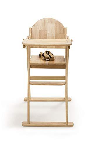 Safetots Putaway seggiolone, pieghevole in legno naturale