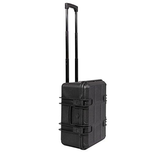 Trolley impermeabile universale per foto e videocamere, 50 x 38 x 25 cm