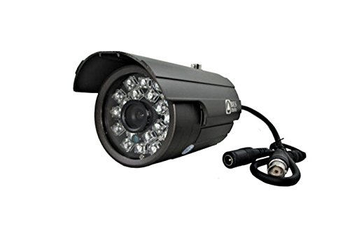 Telecamera Hd Ccd Sony Videosorveglianza, 6 mm, 800 Tvl 20 Big LED Ir Bnc 780