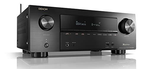 Denon AVR-X2500H 7.2 Channel AV Receiver with Amazon Alexa (Black)