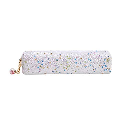 FiedFikt - Astuccio con Paillette Glitterate, per matite, Monete, Penne, Cosmetici, cancelleria, per...