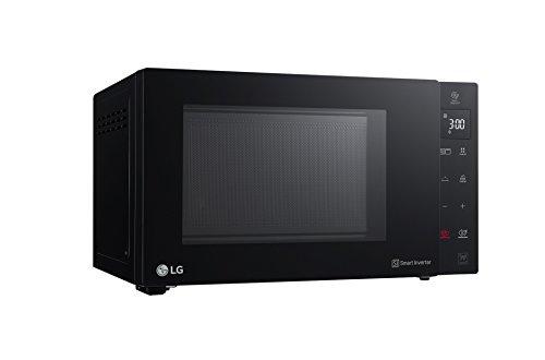LG MH6535GPS – Microondas (322 x 335 x 228 mm, Microondas con grill, Encimera, Tocar, Parrilla de cuarzo, Negro)
