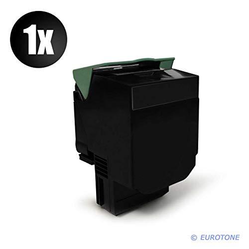 1x Eurotone XXL Toner für Lexmark CX 310 410 510 dhe de dthe dte e DN n ersetzt 80C2SK0 802S