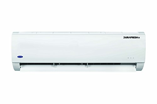 Carrier 1 Ton 3 Star Copper 12K Durafresh Inverter Split AC (White)