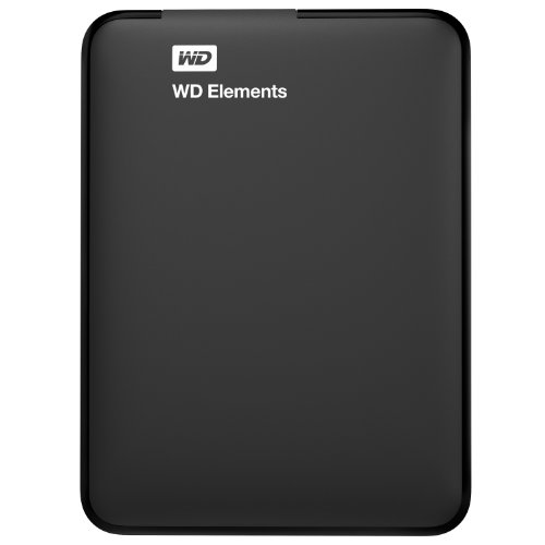 WD Elements 1TB Portable External Hard Drive (Black)
