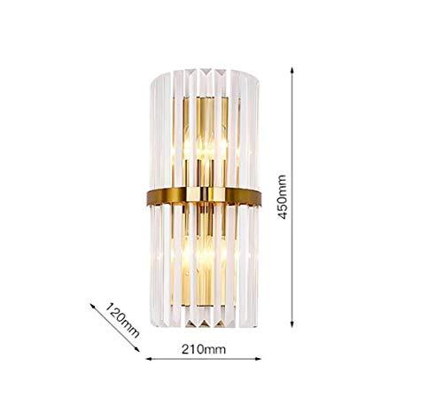 Kristallwandleuchte Wohnzimmer Einfache Schlafzimmer Nordic Post Moderne Gang Leuchten Treppenhaus Persönlichkeit Kreative Designer Nachttischlampe
