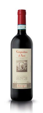 Dacapo Grignolino d'Asti DOC 0,75 lt.