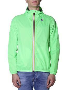 K-Way Claude Cappotto, Verde (Green Fluo Z18), Small (Taglia Produttore:S) Uomo