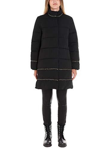Luxury Fashion | Twin-Set Donna 192TP2141S1087300006 Nero Piumino | Autunno Inverno 19
