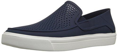 crocs Men's Citilane Roka Slip-on M Navy/White Sneakers-5 UK (M6) (202363-462)