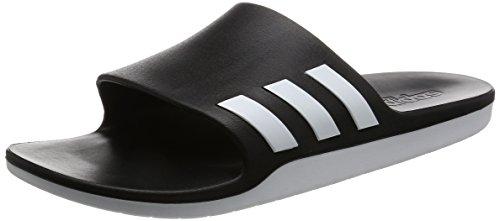 adidas Aqualette CF, Infradito Unisex - Adulto, Nero Footwear White/Core Black, 55 EU