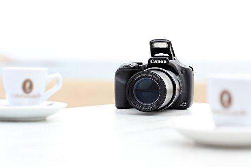 """Canon Powershot SX530 HS - Cámara compacta de 16.0 Mp (pantalla de 3"""", zoom óptico 50x), negro"""
