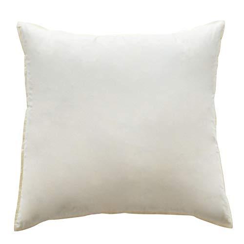 Mack Cuscini BASIC in piuma 80 x 80 cm ogni 1500 G imbottitura cuscino, cuscino interno, cuscino 1500 G imbottitura cuscino/federa/cuscino per divano 1500g, 80_x_80_centime