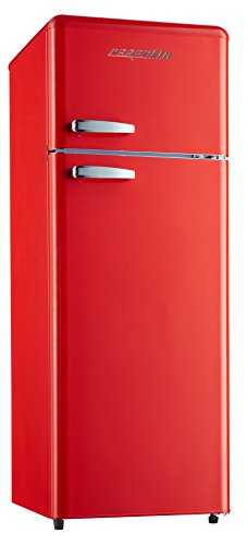 Respekta Retro frigorifero congelatore frigorifero frigorifero KG 146Rosso a + +