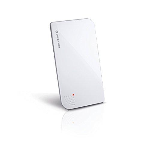 Oehlbach Scope Vision DVB-T2 HD & DAB Antenne | Digitale Zimmerantenne | USB Strom | Aktiv DVB-T-Verstärker | Innenantenne, Testsieger - Weiß
