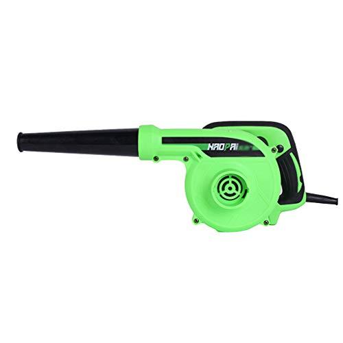 Soplador De Hojas - Soplador De Polvo - Mini Soplador De Aire - con Una Sola Mano - TambiéN Se Puede Usar como Aspirador - 1200W - Verde