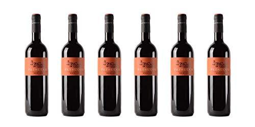 6 bottiglie di Merlot dei Colli Orientali del Friuli DOC | Cantina Petrucco | Annata 2016