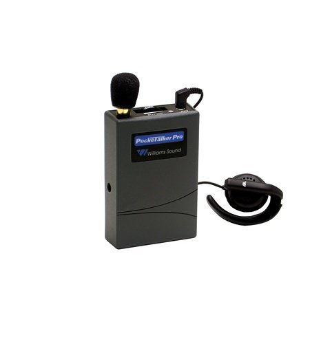 Williams Sound PockeTalker Pro Personal Sound Amplifier w/Wide Range Earphone
