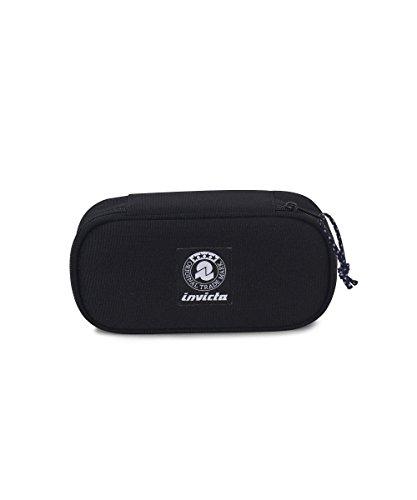 Portapenne INVICTA - LIP PENCIL BAG XL - Nero - porta penne scomparto interno attrezzato